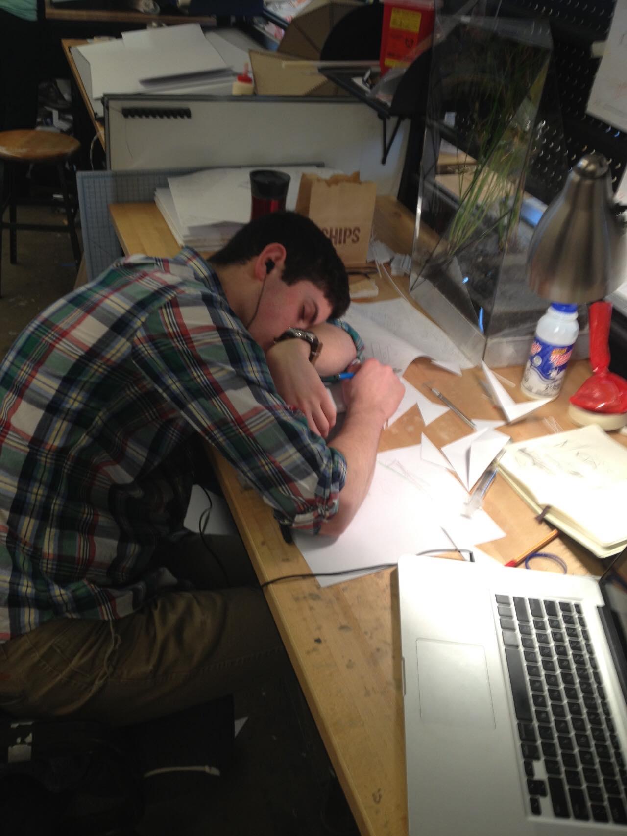 Khi kiến trúc sư ngủ