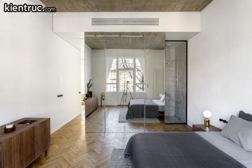 Sử dụng gương để căn hộ của bạn trông rộng hơn