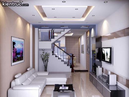 Phòng khách nên được thiết kế vuông vức, không có các góc nhọn