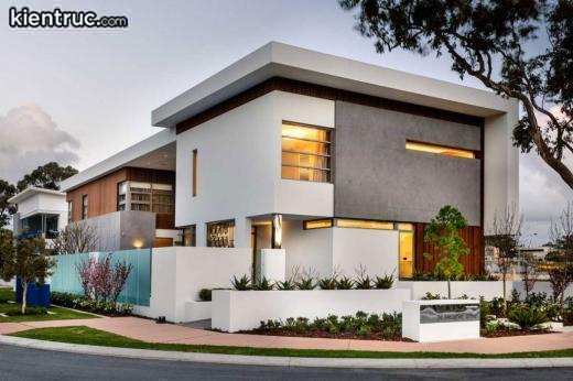 Thiết kế đẹp theo phong cách hiện đại tạo nên không gian sống đẳng cấp