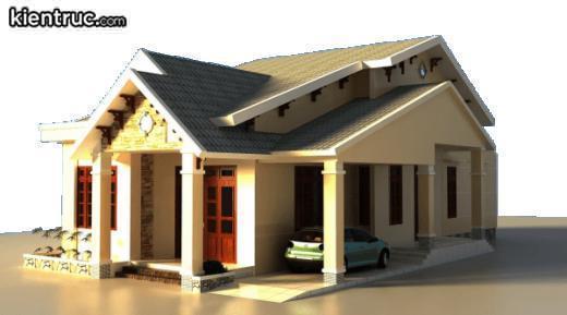 Thiết kế ngôi nhà độc đáo và có phong cách riêng