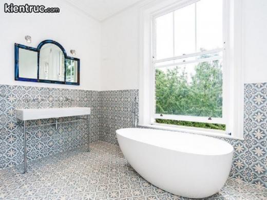 Phòng tắm đẹp hiện đại thông thoáng và gọn gàng
