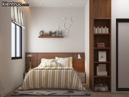 Mẫu phòng ngủ cho thiết kế nhà cấp 4