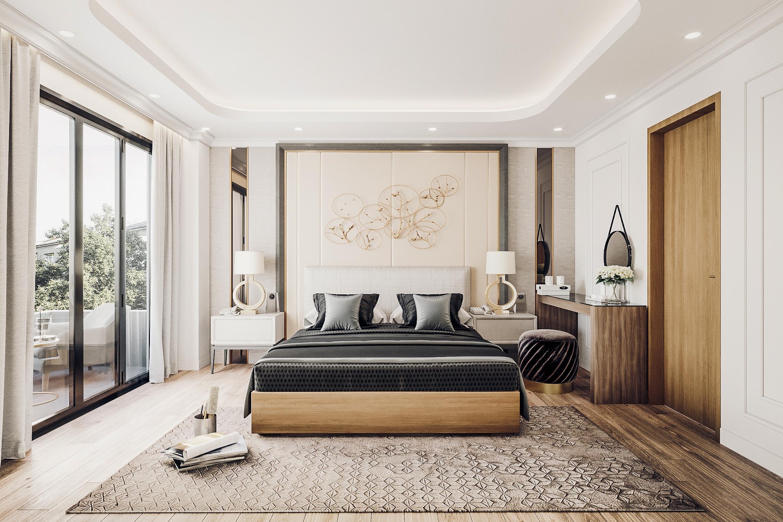 thiết kế nội thất chung cư tại Đà Nẵng Phòng ngủ master 0 1555242085