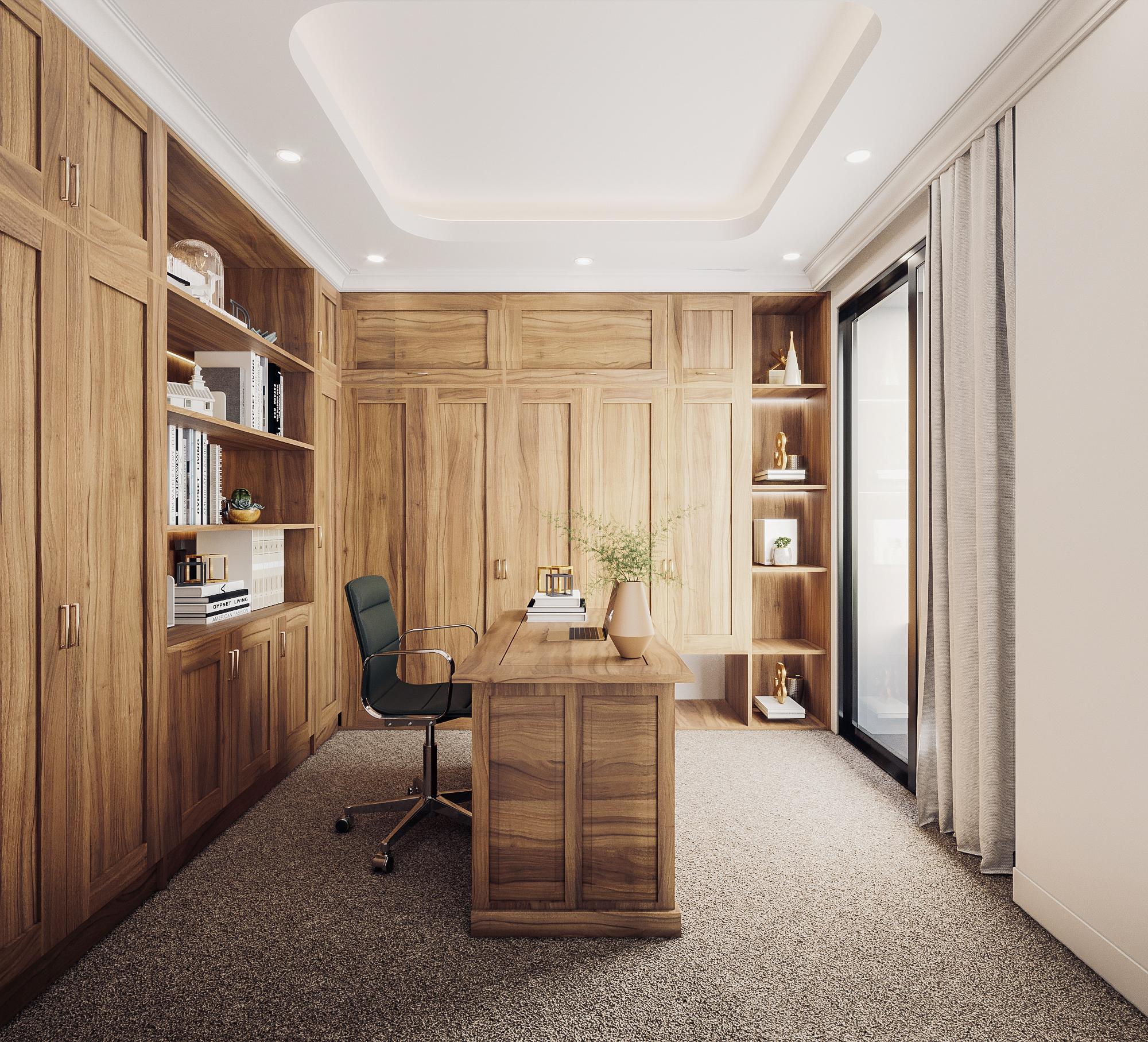 thiết kế nội thất chung cư tại Đà Nẵng Phòng ngủ master 5 1555242085