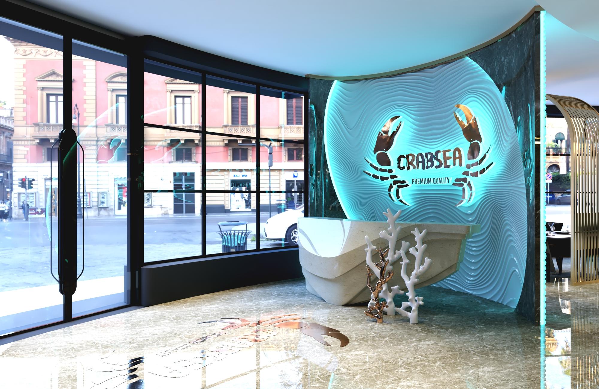 Thiết kế nội thất Nhà Hàng tại Hồ Chí Minh NHÀ HÀNG HẢI SẢN CRABSEA 1595741105 1