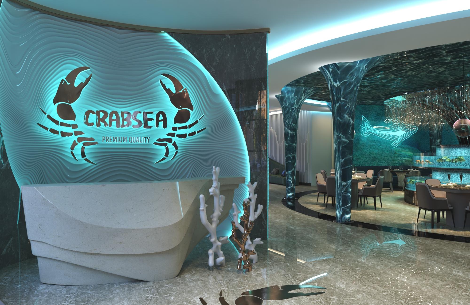 Thiết kế nội thất Nhà Hàng tại Hồ Chí Minh NHÀ HÀNG HẢI SẢN CRABSEA 1595741109 0