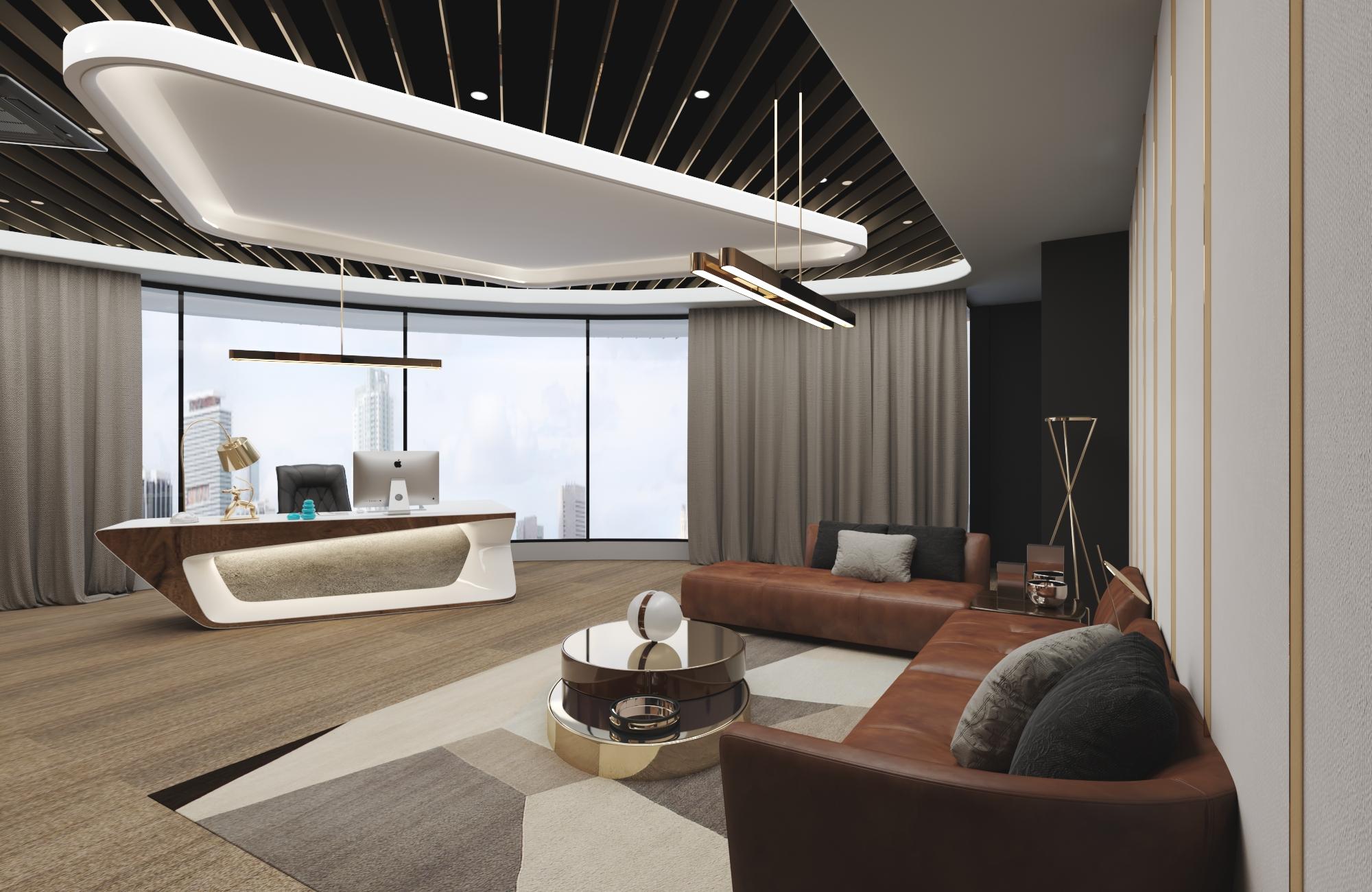 Thiết kế nội thất Văn Phòng tại Hồ Chí Minh VĂN PHÒNG CÔNG TY KIẾN TRÚC VÀ NỘI THẤT NHÀ XINH 1594800456 1