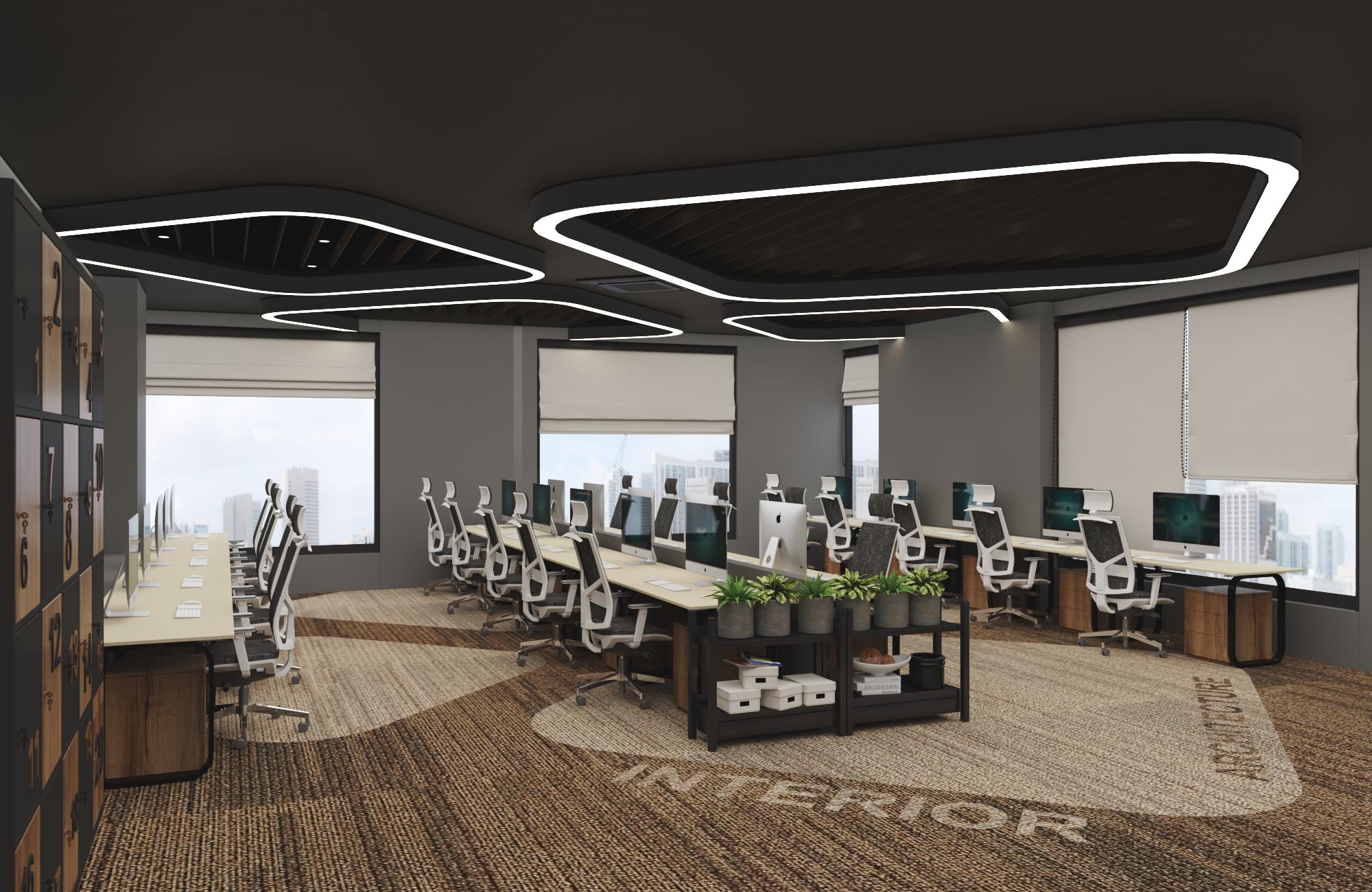 Thiết kế nội thất Văn Phòng tại Hồ Chí Minh VĂN PHÒNG CÔNG TY KIẾN TRÚC VÀ NỘI THẤT NHÀ XINH 1594800457 12