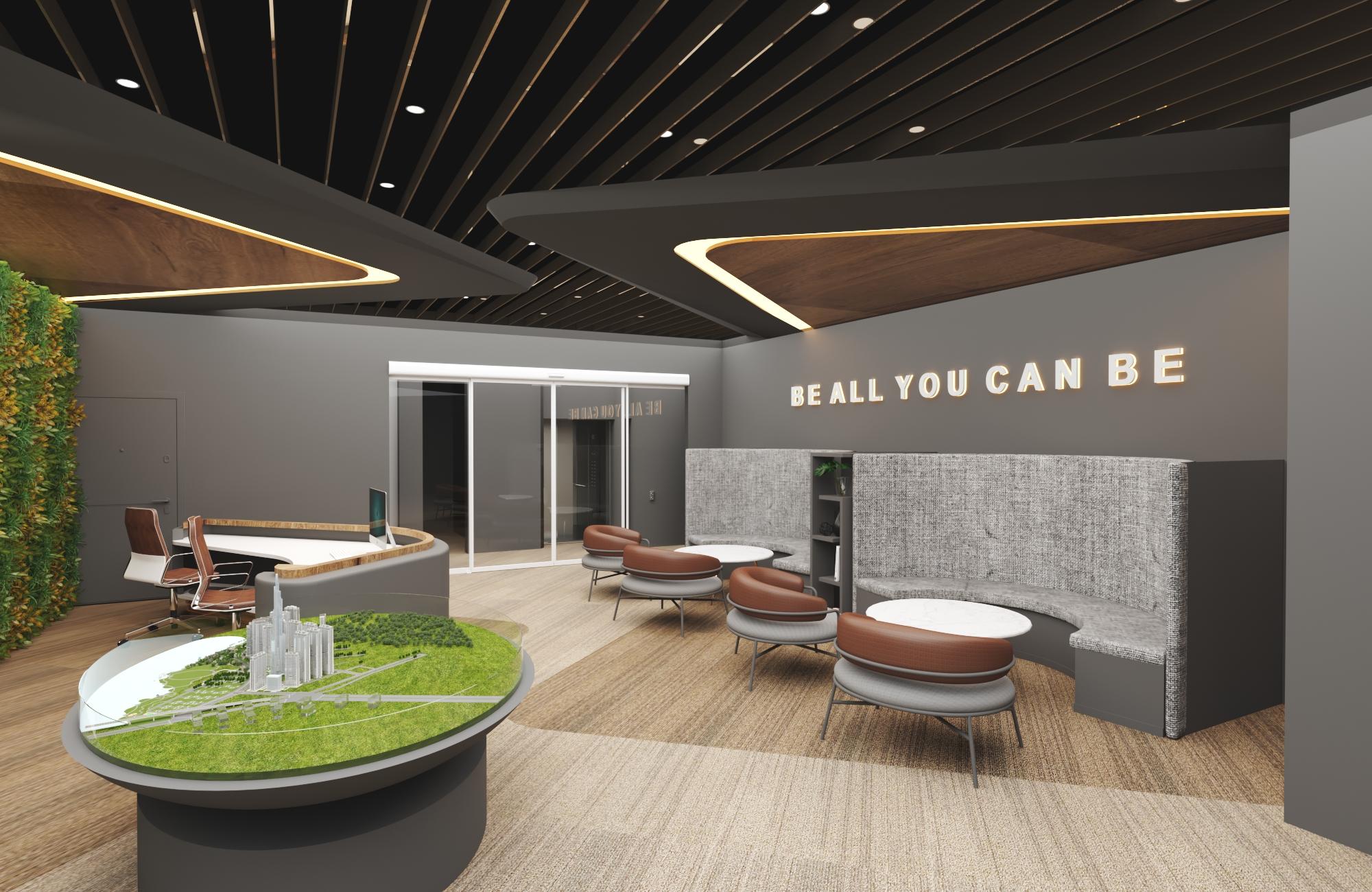 Thiết kế nội thất Văn Phòng tại Hồ Chí Minh VĂN PHÒNG CÔNG TY KIẾN TRÚC VÀ NỘI THẤT NHÀ XINH 1594800457 9