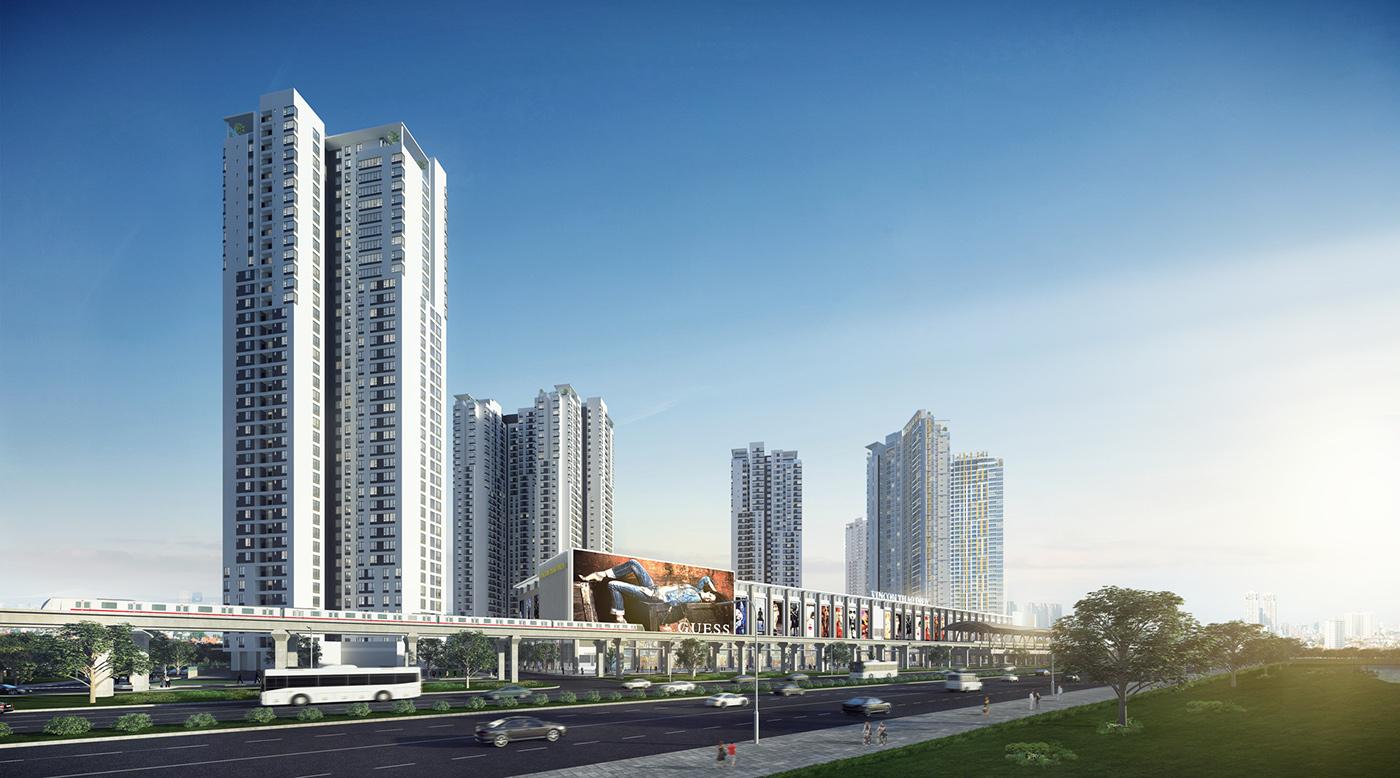 thiết kế chung cư tại Hồ Chí Minh Thao Dien Metropolis Appartment 10 1535706252