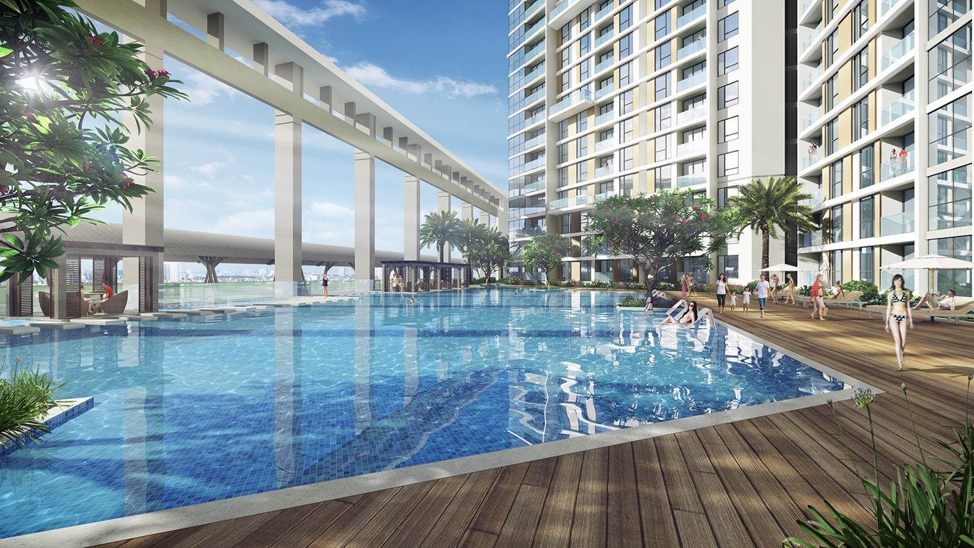 thiết kế chung cư tại Hồ Chí Minh Thao Dien Metropolis Appartment 7 1535706267