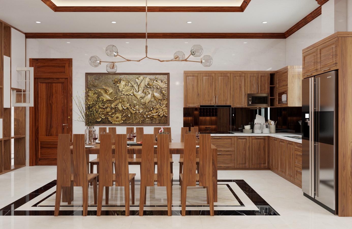 Thiết kế nội thất Biệt Thự tại Nam Định Living House 1573645675 3