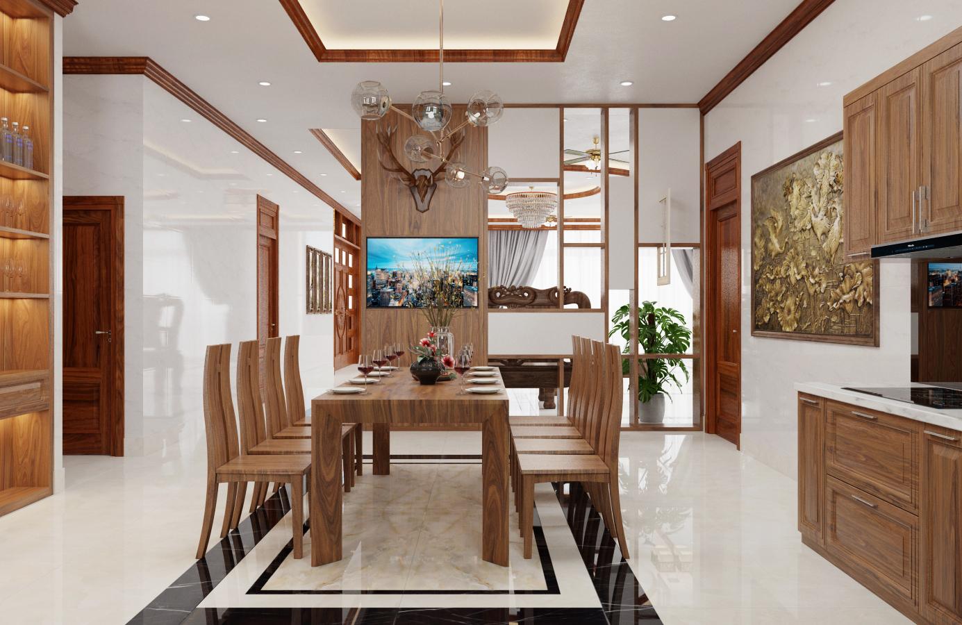 Thiết kế nội thất Biệt Thự tại Nam Định Living House 1573645676 2