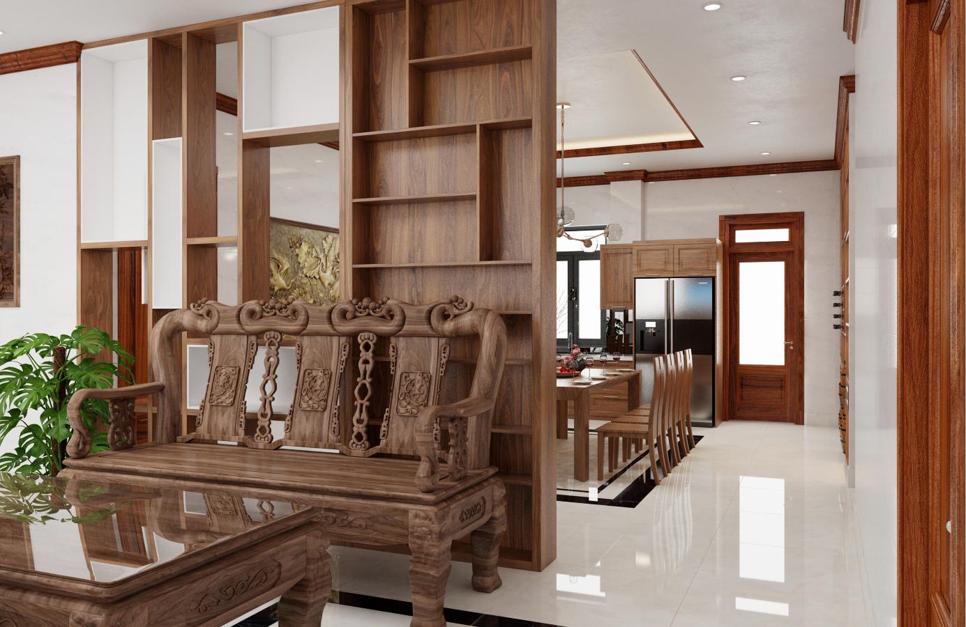 Thiết kế nội thất Biệt Thự tại Nam Định Living House 1573645676 4