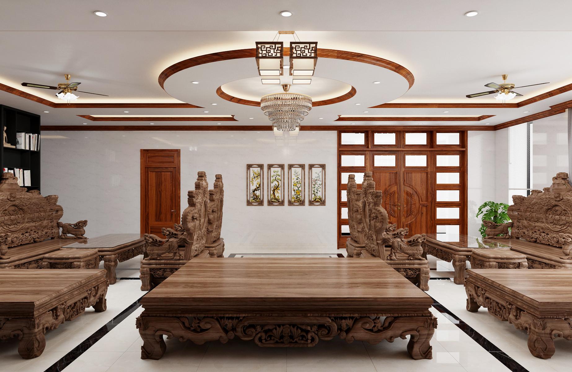 Thiết kế nội thất Biệt Thự tại Nam Định Living House 1573645677 10