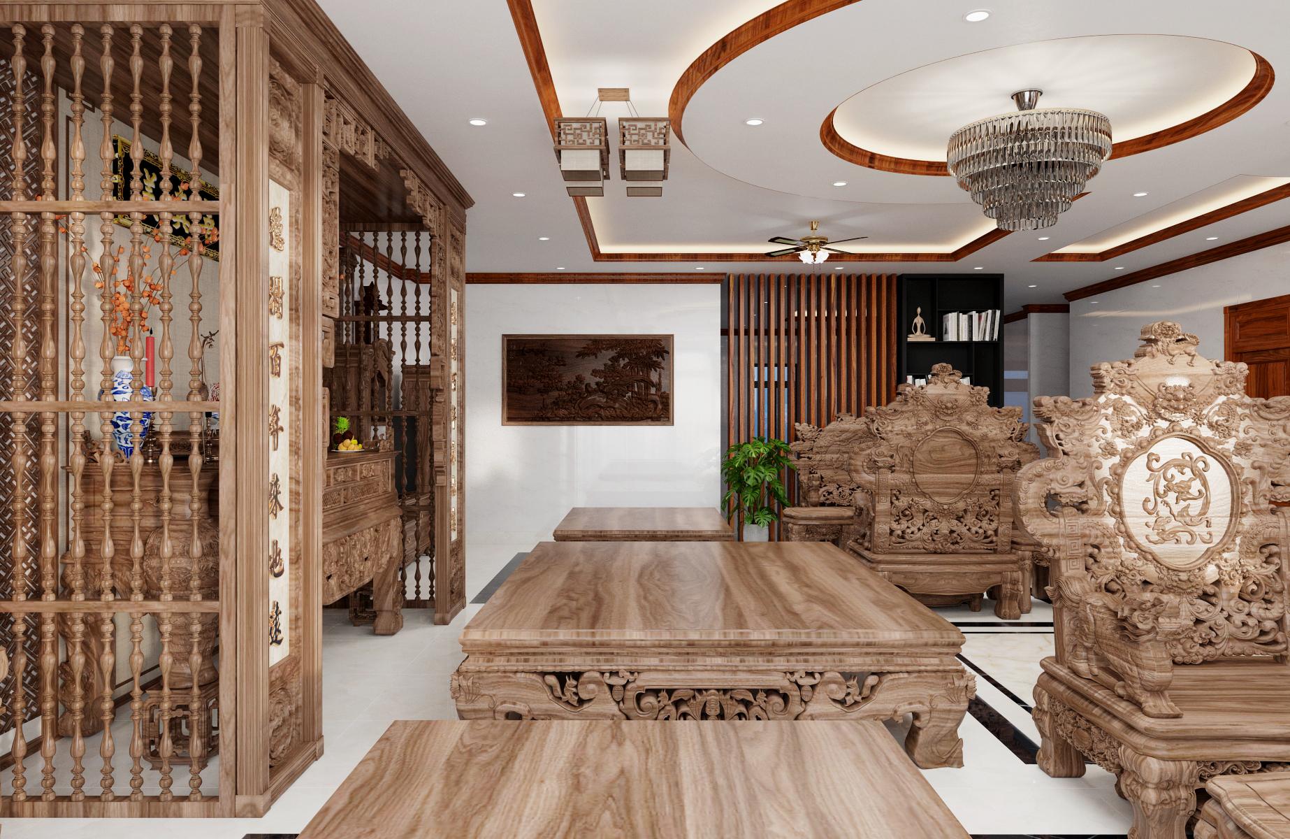 Thiết kế nội thất Biệt Thự tại Nam Định Living House 1573645678 9