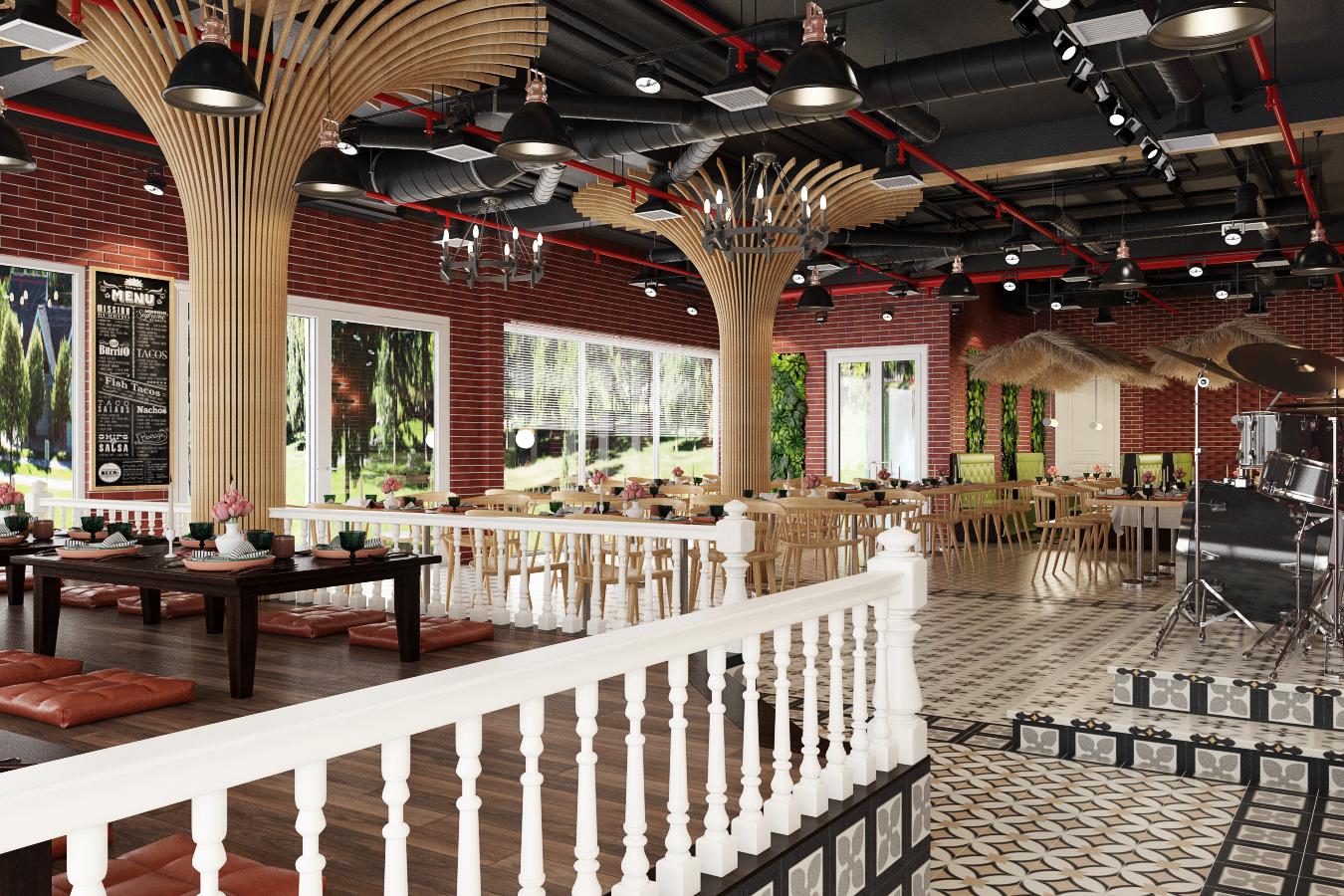 thiết kế nội thất Nhà Hàng tại Hà Nội Nhà hàng - Massage 3 1550809517