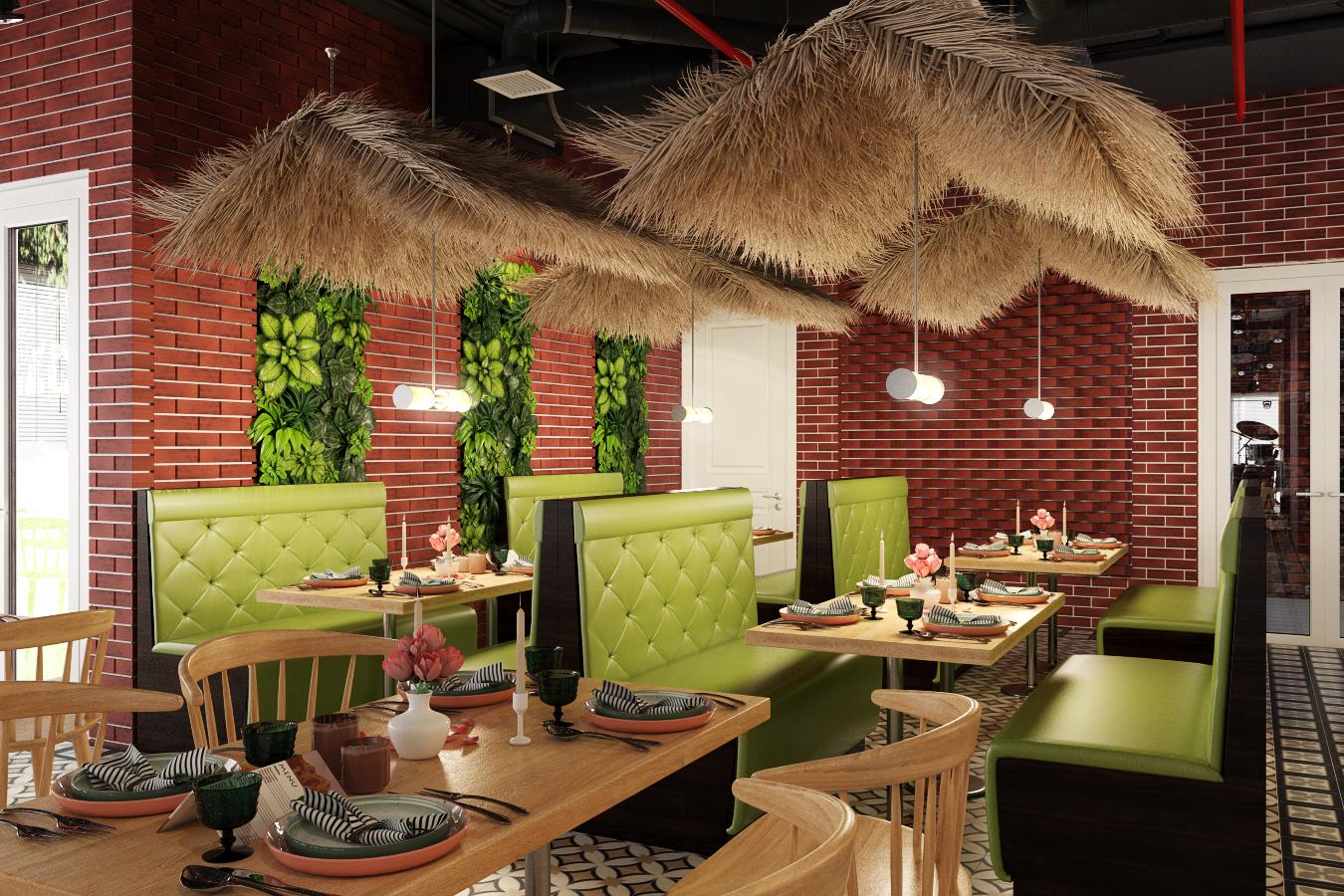 thiết kế nội thất Nhà Hàng tại Hà Nội Nhà hàng - Massage 6 1550809523