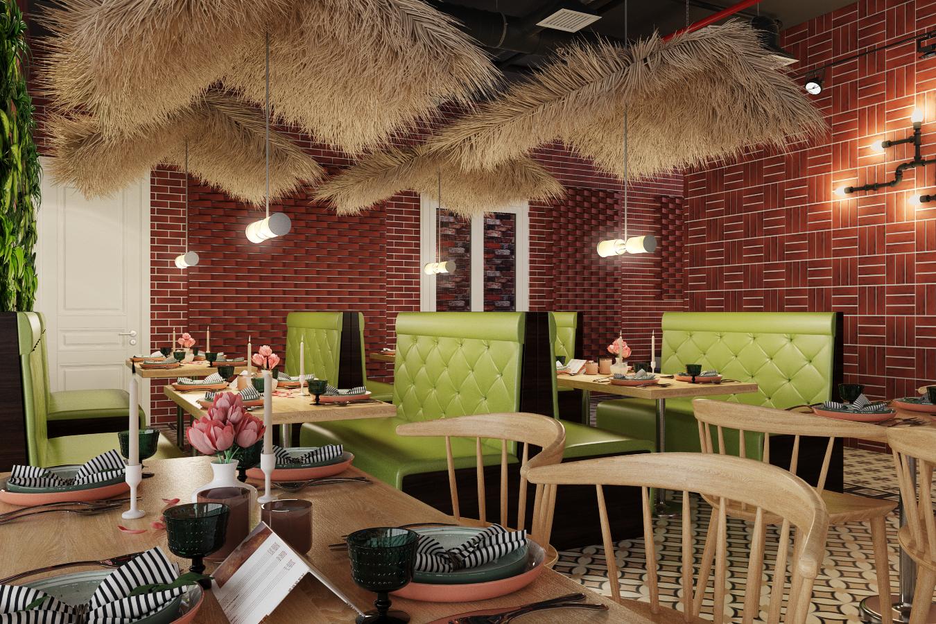 thiết kế nội thất Nhà Hàng tại Hà Nội Nhà hàng - Massage 7 1550809522