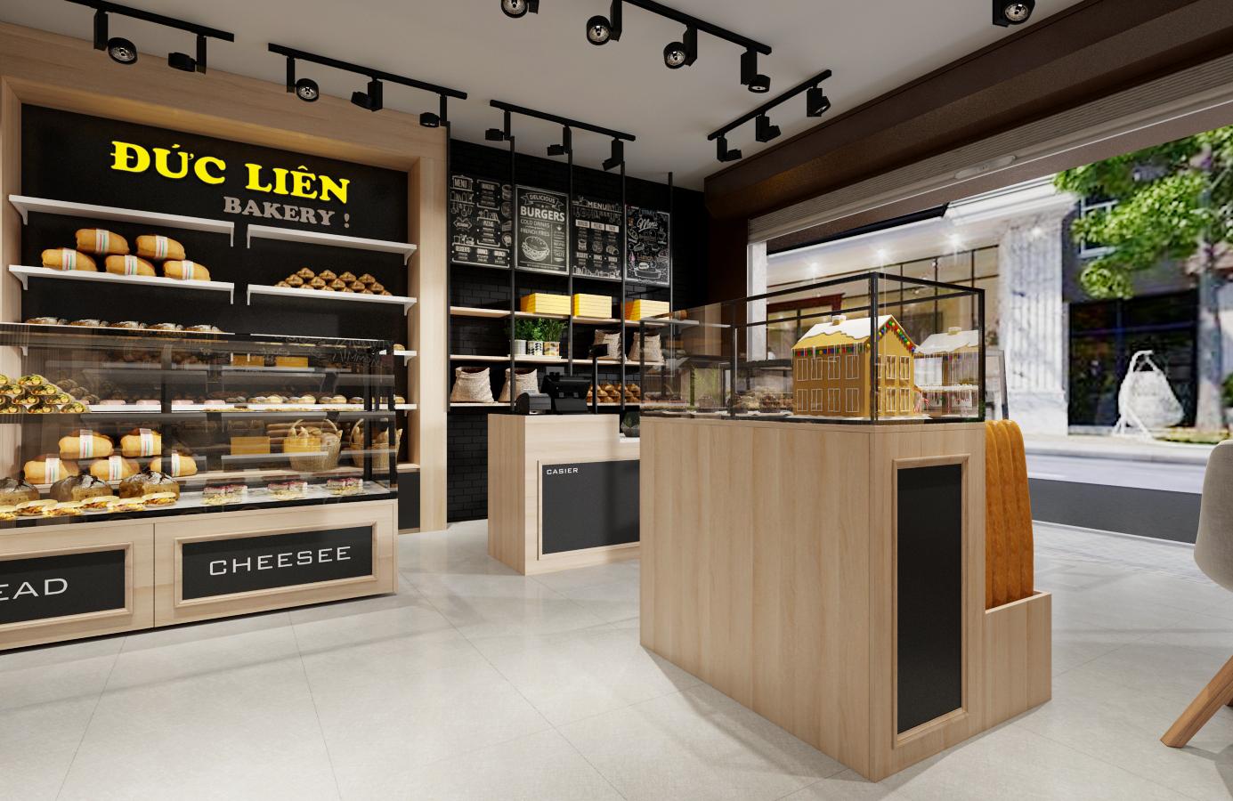 Thiết kế nội thất Nhà Hàng tại Hà Nội Đức Liên Bakery 1573645797 1