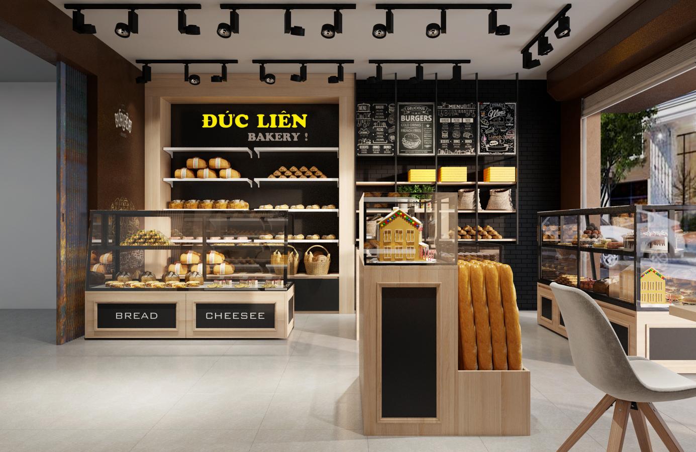 Thiết kế nội thất Nhà Hàng tại Hà Nội Đức Liên Bakery 1573645797 5