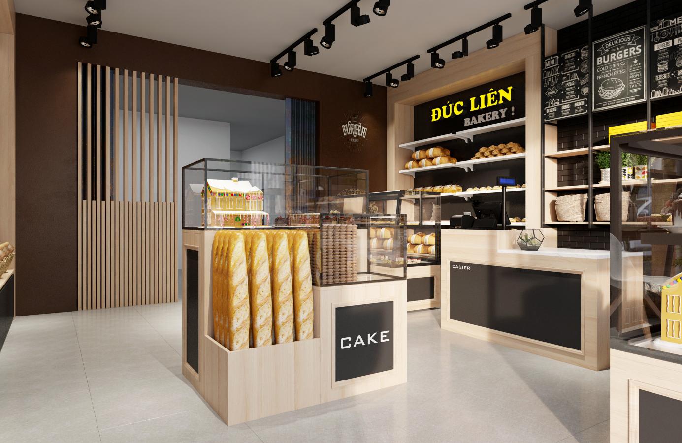 Thiết kế nội thất Nhà Hàng tại Hà Nội Đức Liên Bakery 1573645798 3