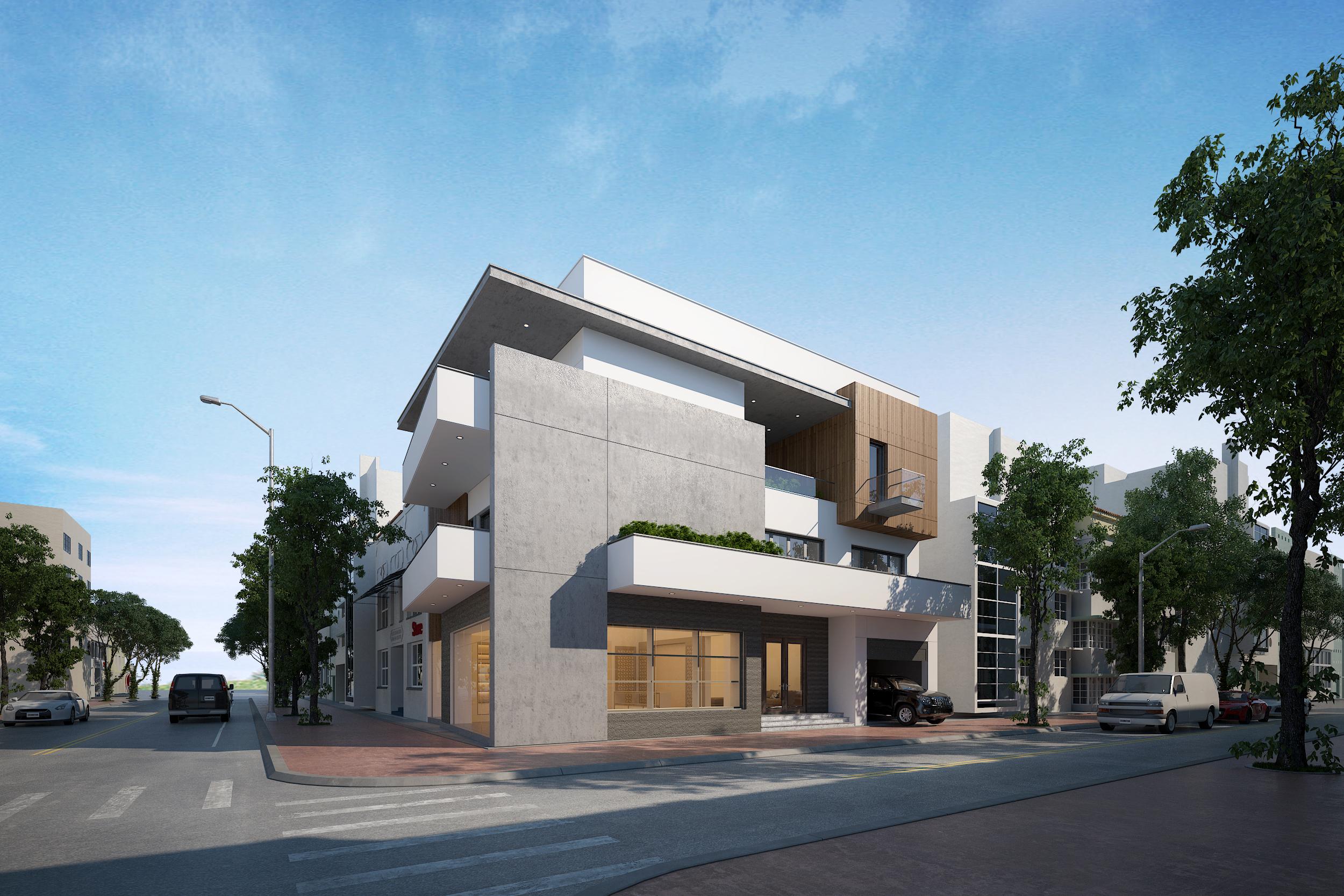 thiết kế Biệt Thự tại Quảng Bình Biệt thự phố DVA17 0 1545317197