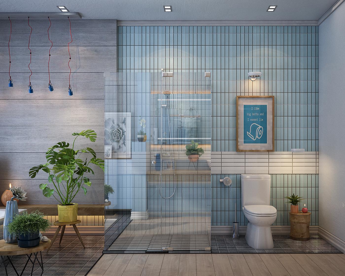 thiết kế nội thất Biệt Thự tại Hà Nội Bathroom design 2016 0 1534389466