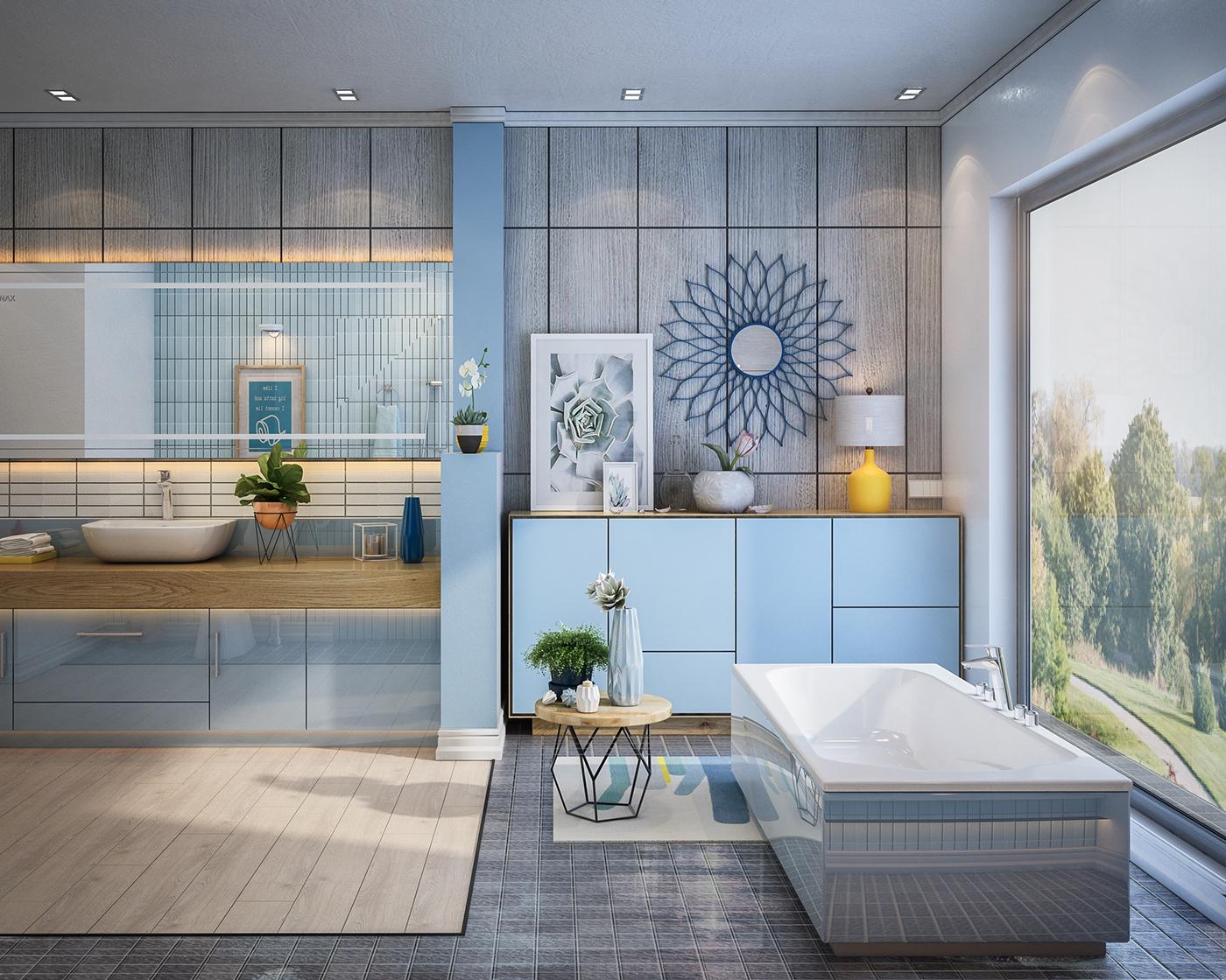thiết kế nội thất Biệt Thự tại Hà Nội Bathroom design 2016 2 1534389458