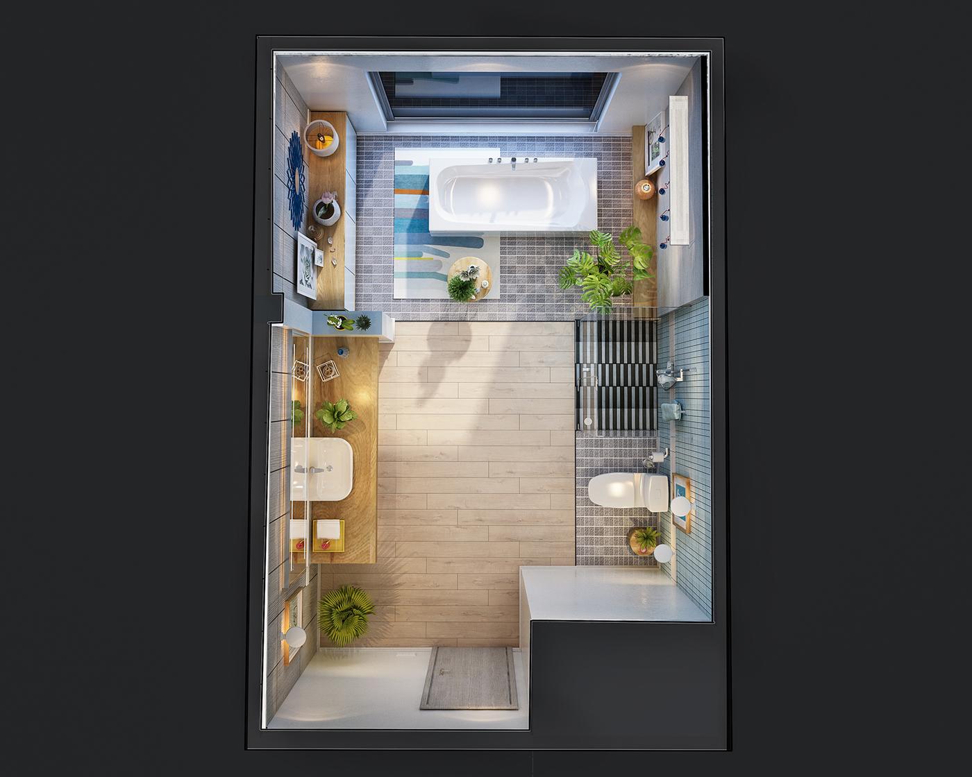 thiết kế nội thất Biệt Thự tại Hà Nội Bathroom design 2016 7 1534389438