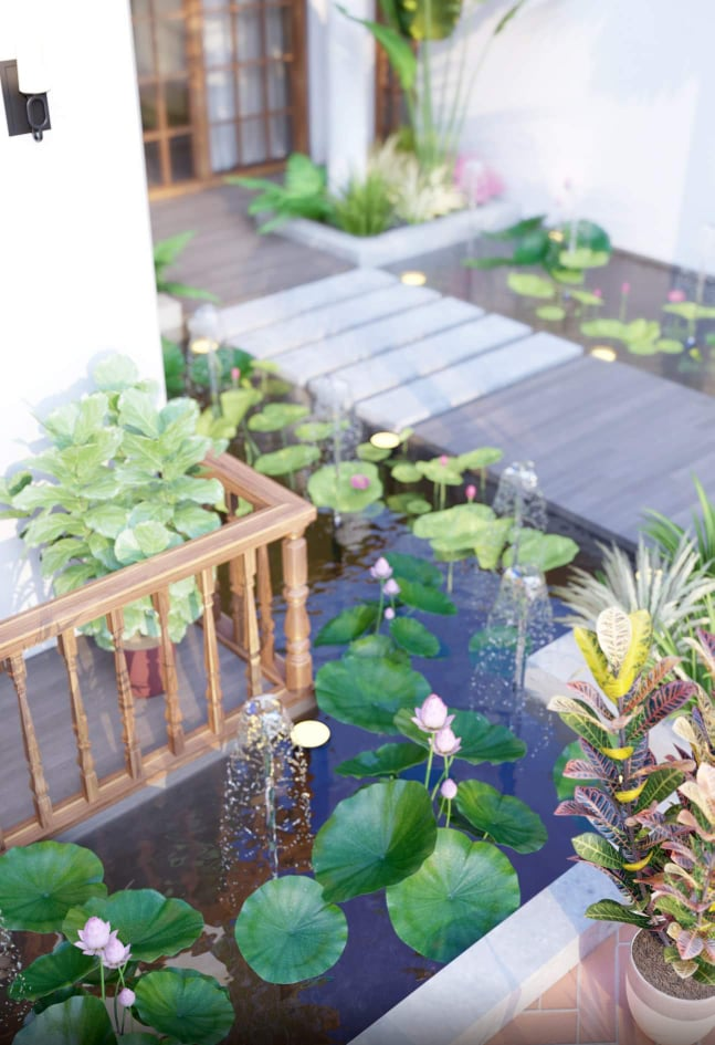 thiết kế Biệt Thự tại Hồ Chí Minh BTV - NTTM DESIGN 12 1553826336