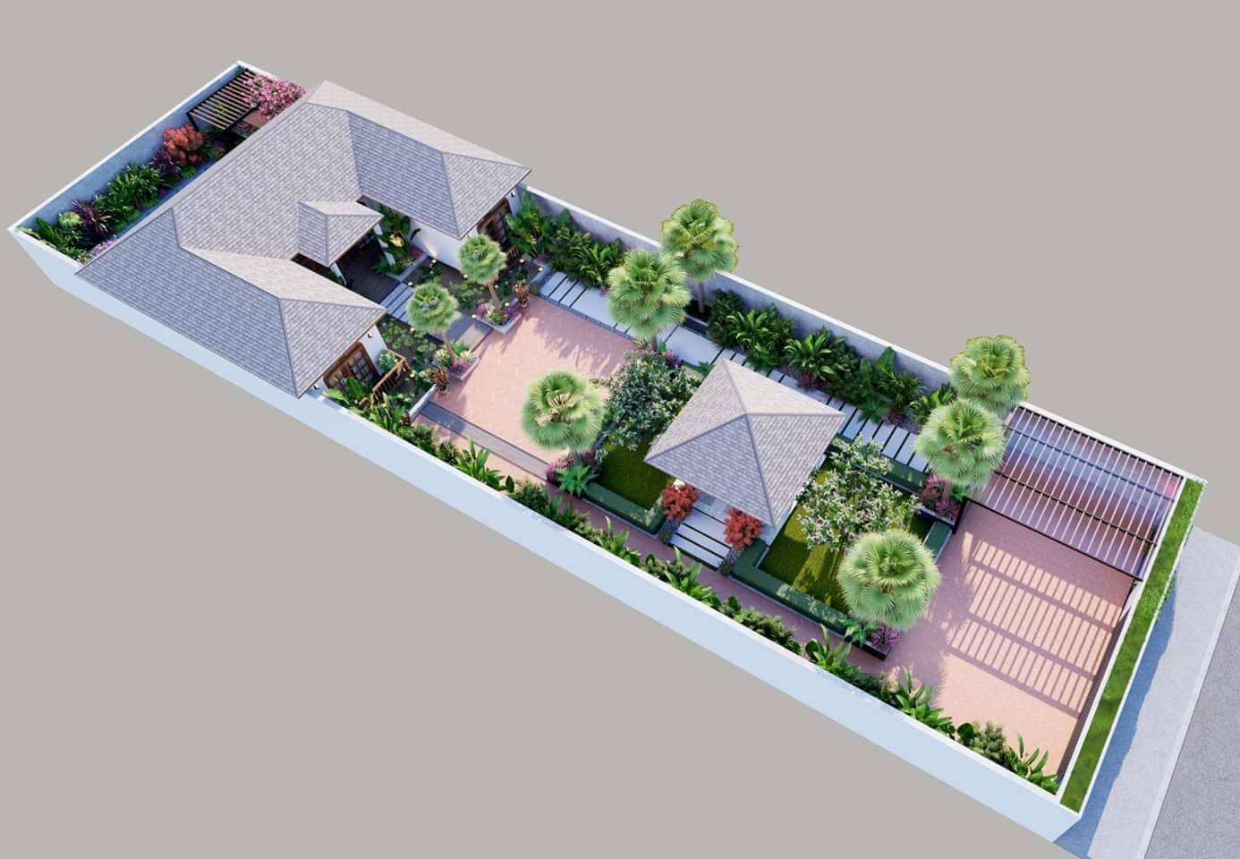 thiết kế Biệt Thự tại Hồ Chí Minh BTV - NTTM DESIGN 7 1553826335