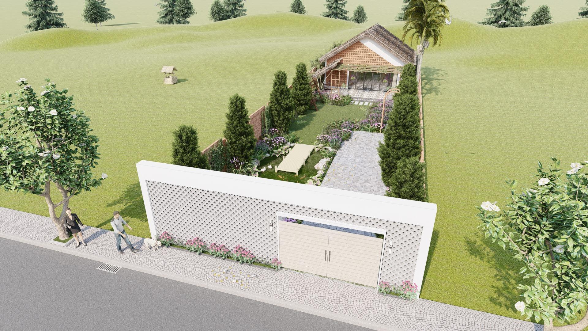 thiết kế Nhà tại Đồng Nai NHÀ SINH HOẠT TUẦN ,NGHĨ DƯỠNG  10 1557156710