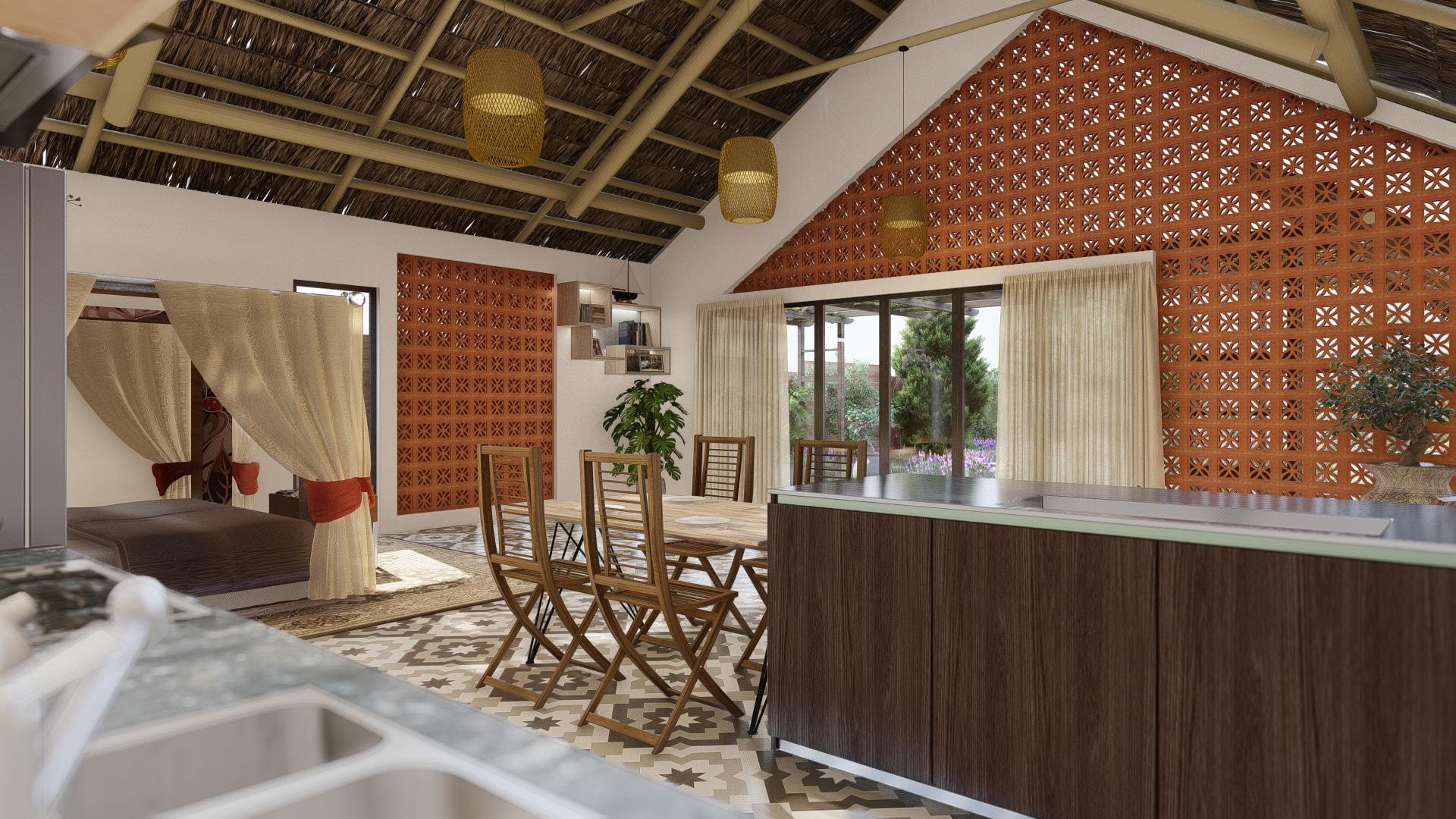 thiết kế Nhà tại Đồng Nai NHÀ SINH HOẠT TUẦN ,NGHĨ DƯỠNG  19 1557156715
