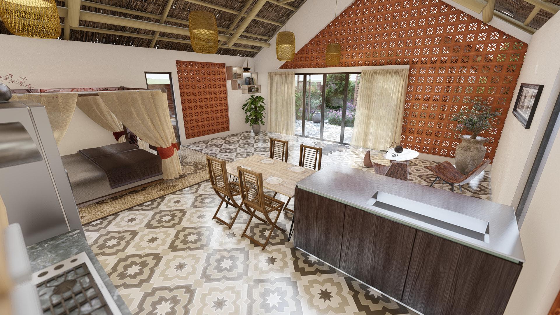thiết kế Nhà tại Đồng Nai NHÀ SINH HOẠT TUẦN ,NGHĨ DƯỠNG  20 1557156714