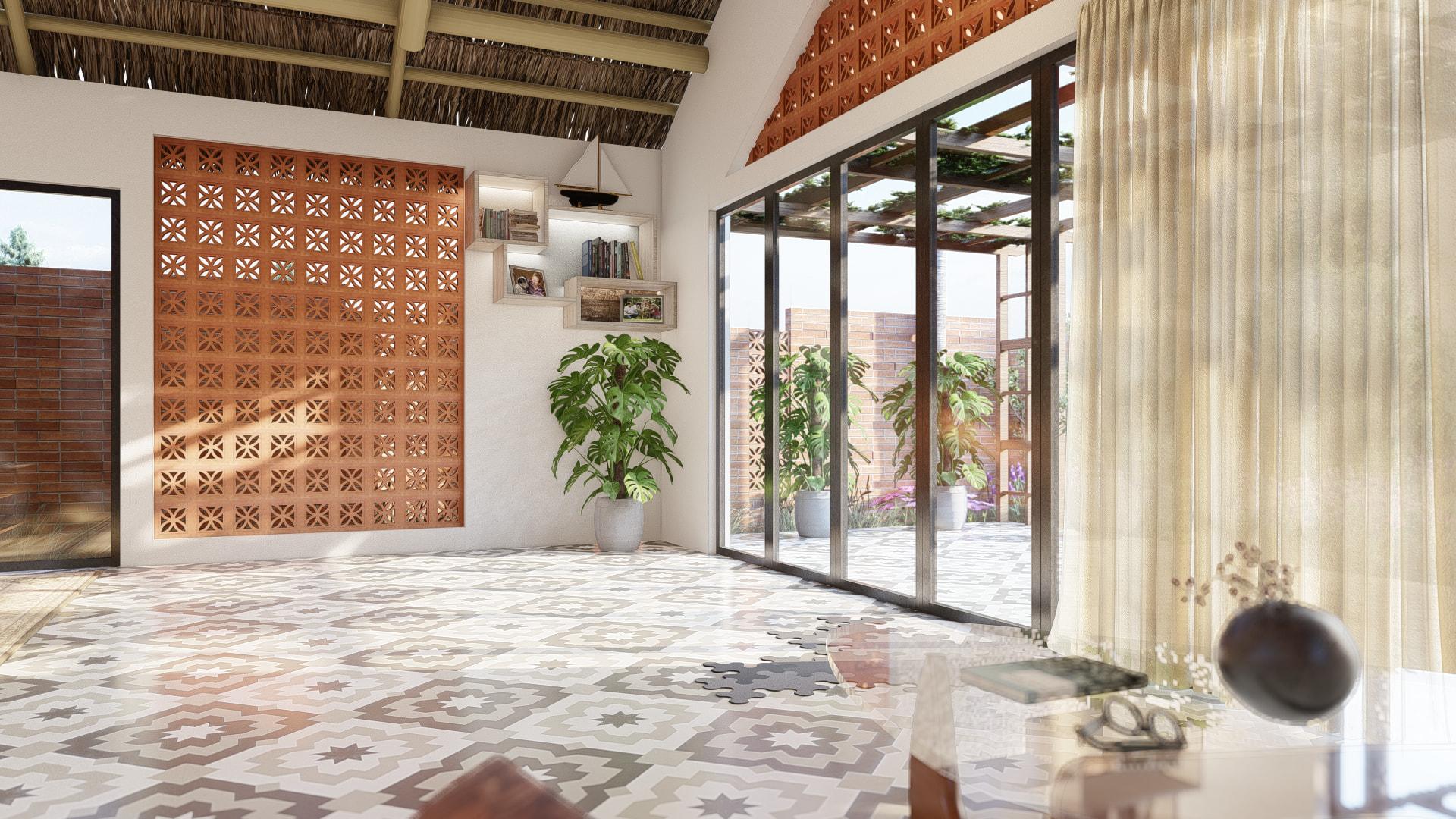 thiết kế Nhà tại Đồng Nai NHÀ SINH HOẠT TUẦN ,NGHĨ DƯỠNG  21 1557156715