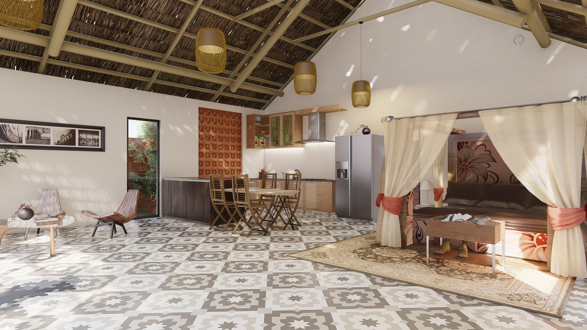 thiết kế Nhà tại Đồng Nai NHÀ SINH HOẠT TUẦN ,NGHĨ DƯỠNG  3 1557156708