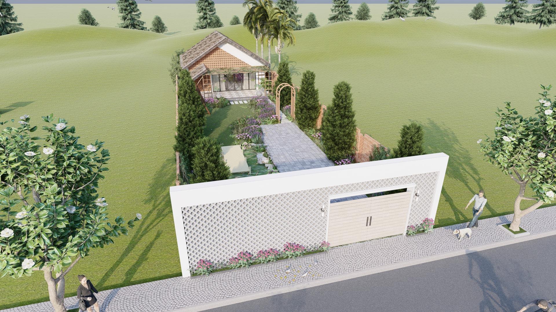 thiết kế Nhà tại Đồng Nai NHÀ SINH HOẠT TUẦN ,NGHĨ DƯỠNG  4 1557156707
