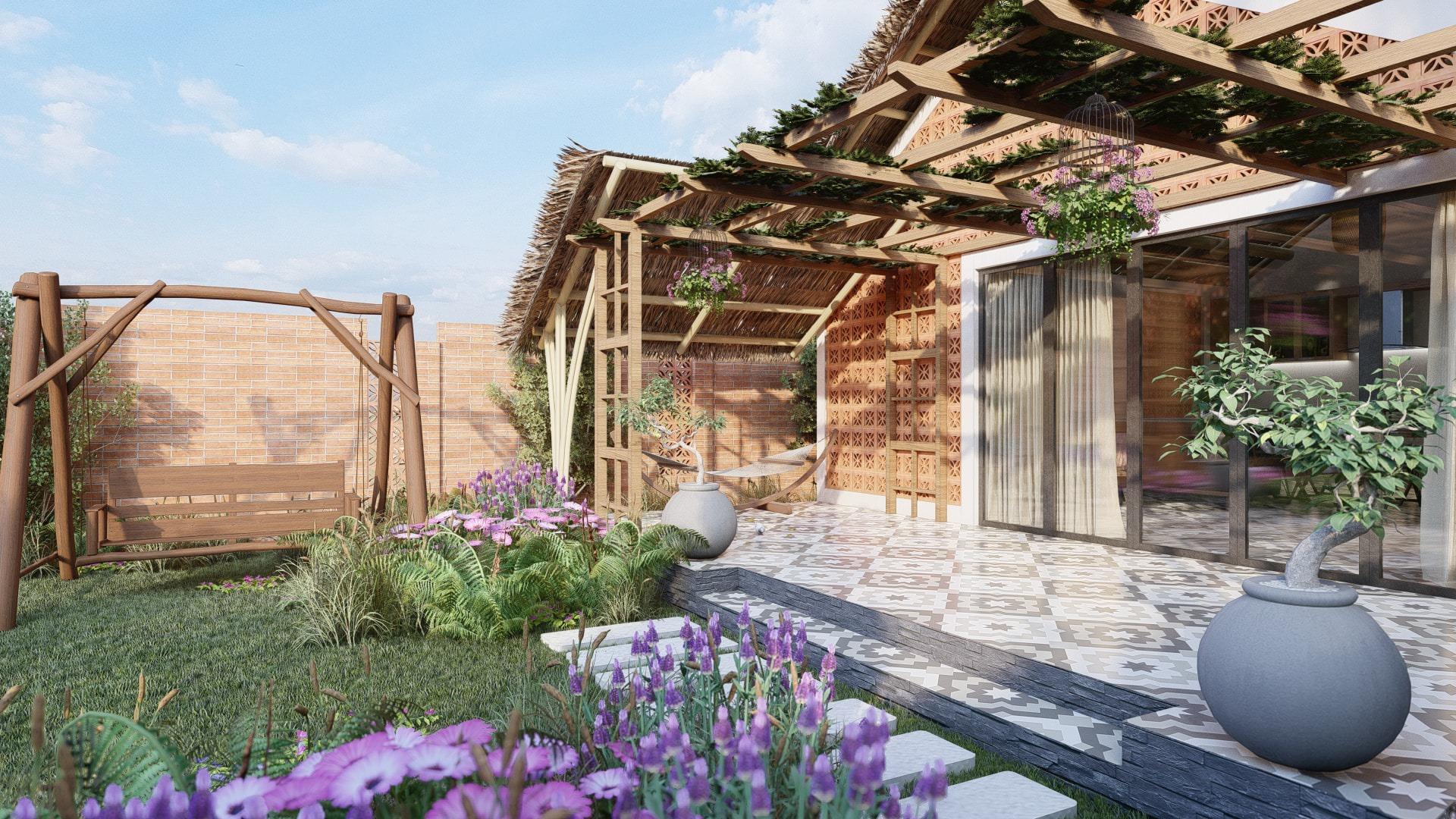 thiết kế Nhà tại Đồng Nai NHÀ SINH HOẠT TUẦN ,NGHĨ DƯỠNG  6 1557156710
