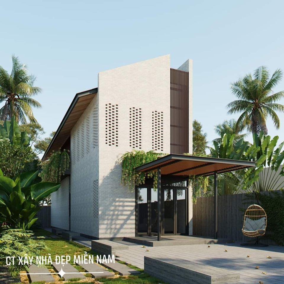 Thiết kế Nhà tại Tiền Giang Cấp 4 Gác Lửng Tiền Giang 1590546991 0
