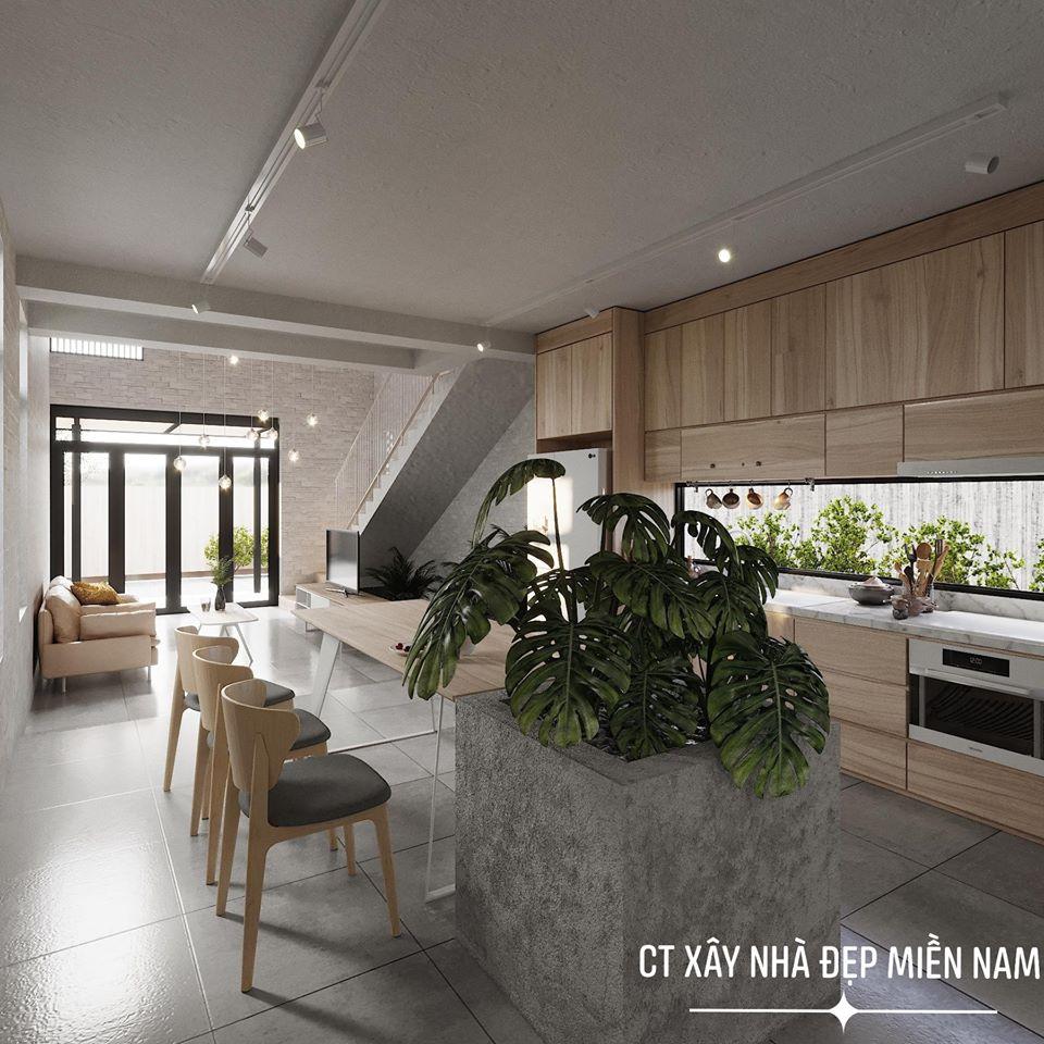 Thiết kế Nhà tại Tiền Giang Cấp 4 Gác Lửng Tiền Giang 1590546992 1