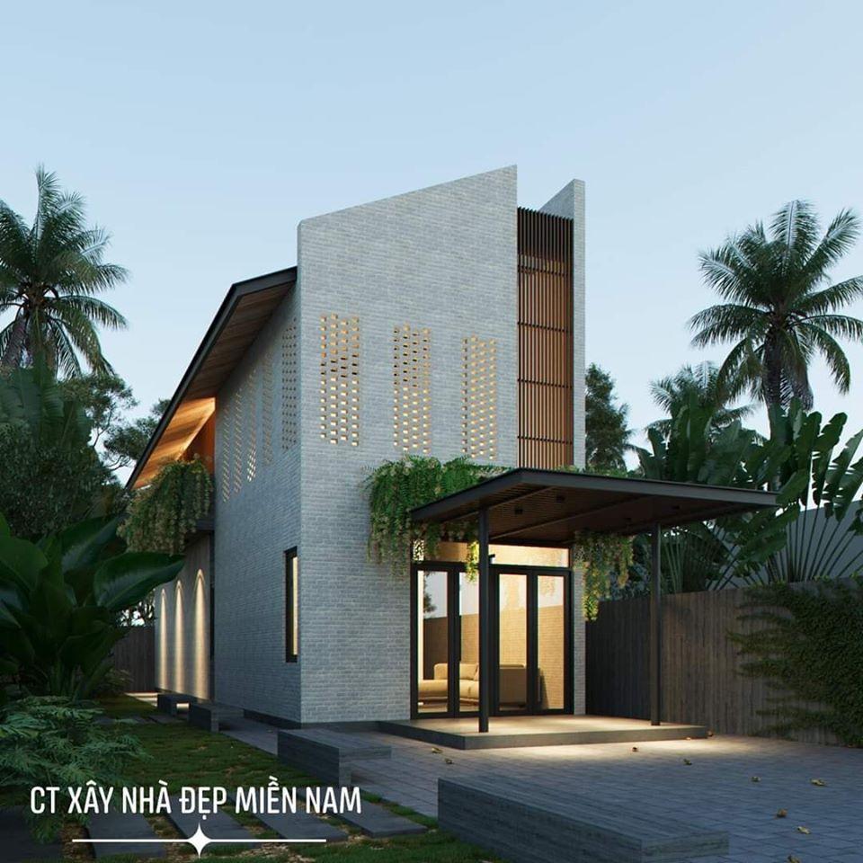 Thiết kế Nhà tại Tiền Giang Cấp 4 Gác Lửng Tiền Giang 1590546993 2