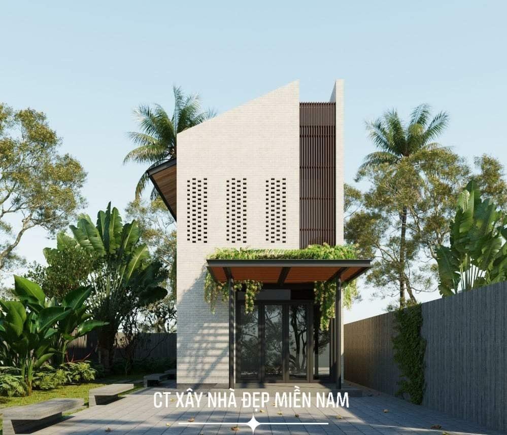 Thiết kế Nhà tại Tiền Giang Cấp 4 Gác Lửng Tiền Giang 1590546993 4