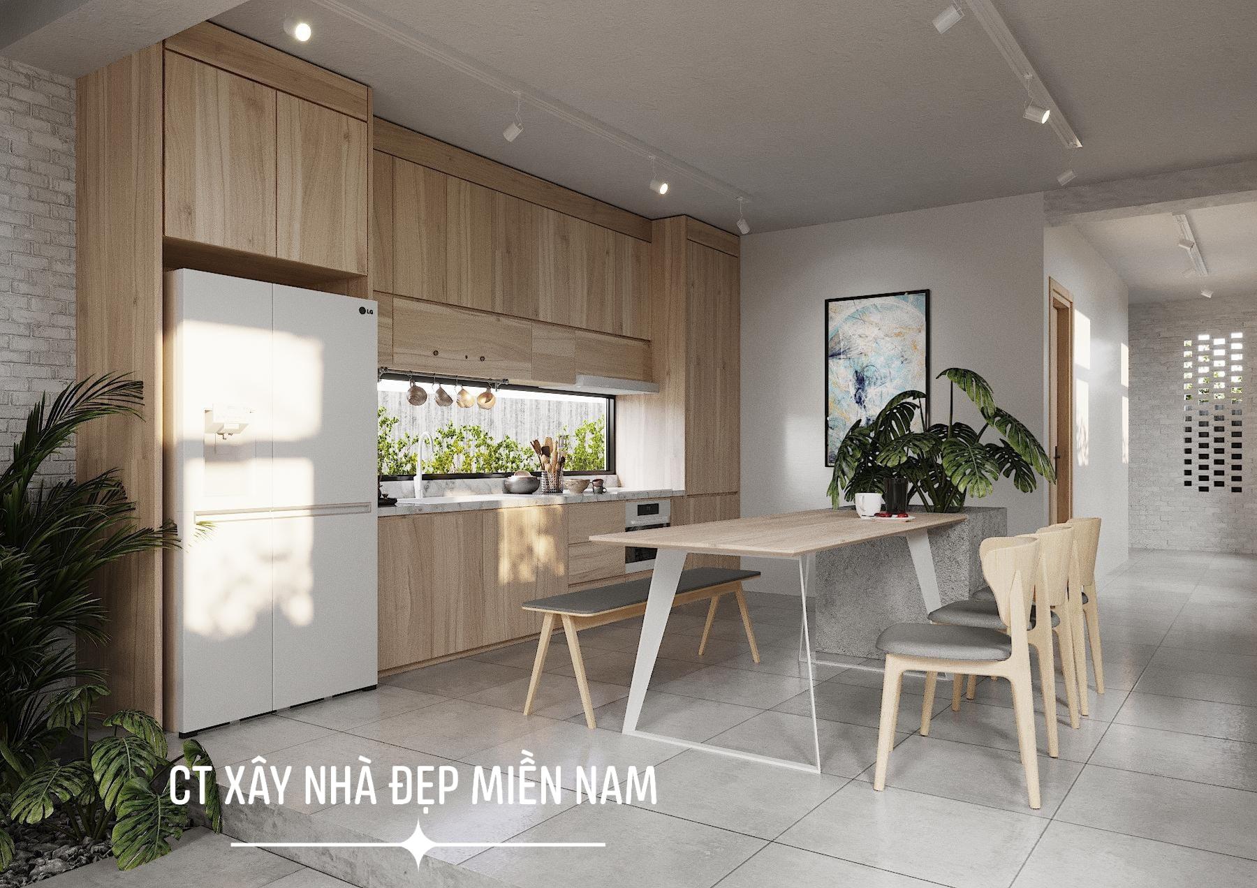 Thiết kế Nhà tại Tiền Giang Cấp 4 Gác Lửng Tiền Giang 1590546993 5