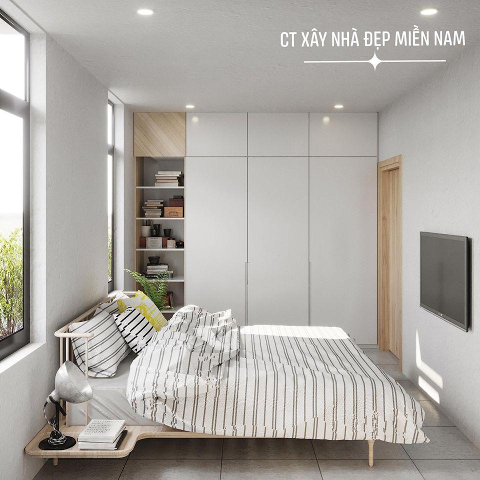 Thiết kế Nhà tại Tiền Giang Cấp 4 Gác Lửng Tiền Giang 1590546993 6