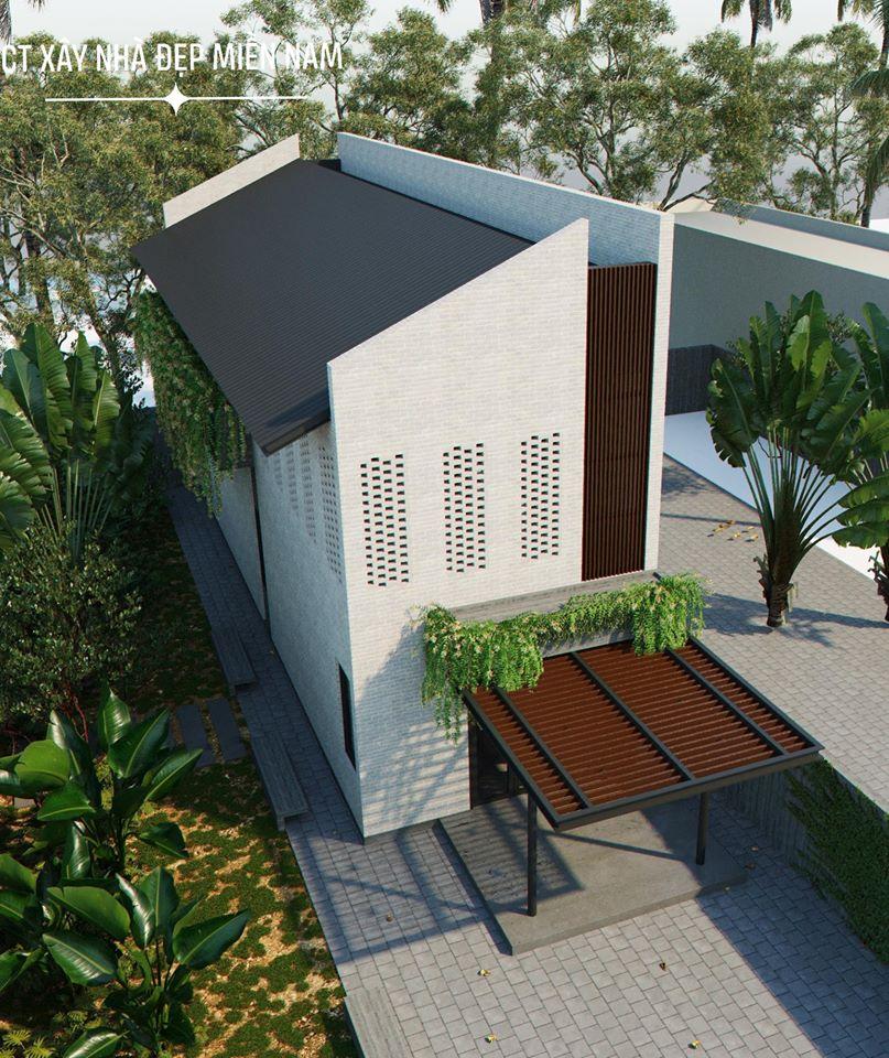 Thiết kế Nhà tại Tiền Giang Cấp 4 Gác Lửng Tiền Giang 1590546993 7