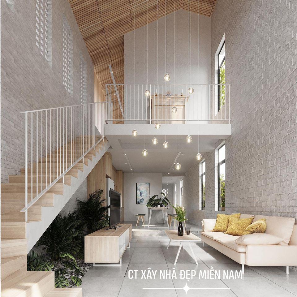 Thiết kế Nhà tại Tiền Giang Cấp 4 Gác Lửng Tiền Giang 1590546993 9