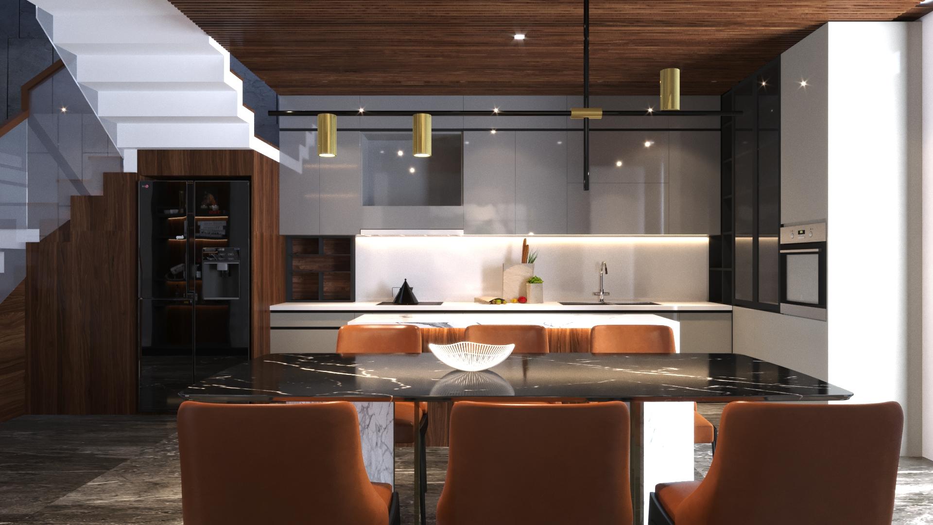 thiết kế Nhà Mặt Phố 3 tầng tại Đà Nẵng N house 5 1555265733