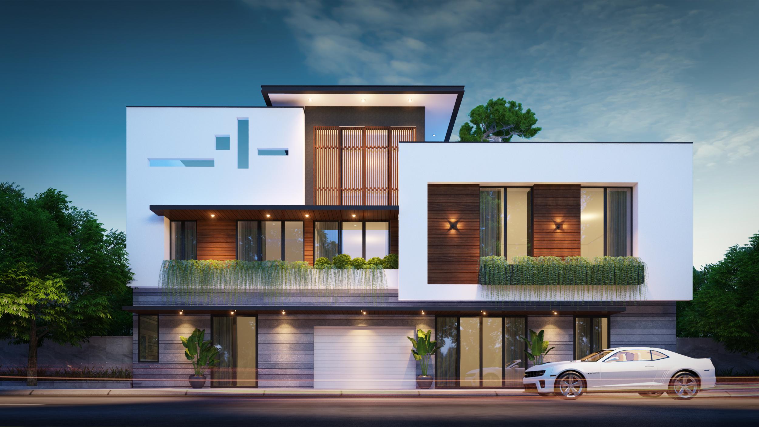 Thiết kế Nhà Mặt Phố tại Đà Nẵng LC HOUSE 1587710442 0
